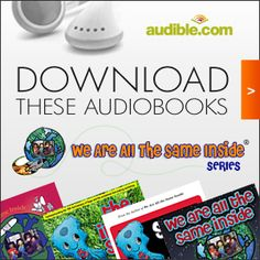 #WeAreAllTheSameInside series exclusively available on audible.com