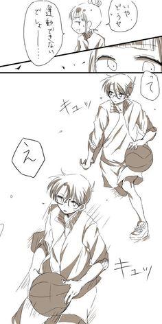 ぼうすけ (@boou_ningen) さんの漫画   29作目   ツイコミ(仮) Conan, Magic Kaito, Aesthetic Anime, Funny Cute, Detective, Manga, Comics, Fictional Characters, Shiba