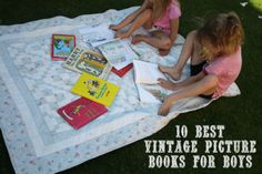 10 best vintage picture books for boys