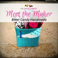 Meet the Maker - Bitter Candy Handmade - Andrie Designs Paper and PDF bag patterns Handmade bags Bag Patterns, Handmade Bags, Bitter, Bag Making, Pdf, Meet, Candy, Paper, Creative