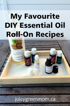 Custom #DIY essential oil roll-on recipes for anything & anyone! #essentialoils