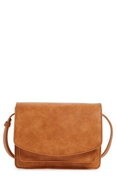 Sole Society 'Michelle' Faux Leather Crossbody Bag available at #Nordstrom
