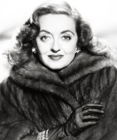"""Bette Davis - looks like this pic is from """"All About Eve"""" - 1950 - great picture!"""