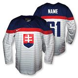 Slovakia 2014 Olympic Jersey - original and replicas. Stripes are the words of the Slovak national anthem. Hockey Teams, Football Team, National Anthem, Olympics, Stripes, Sports, Football Equipment, Football Squads, National Anthem Song