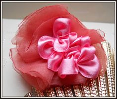 Brooch and hair decoration 2 in 1