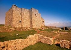 "Castle Keep North | Lundy (Isle) | GB | Renovated by ""The Landmark Trust"""