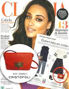 Clipping Cristófoli - Revista Cláudia - Novembro 2014