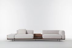 Positano sofa / Mauro Lipparini for Casa International - Mauro Lipparini designed the modular Positano sofa for Casa International to offer countless seating configurations for flexibility and comfort. With the Positano sofa, anything feels possible. With its remarkable modularity and flexibility, all of Positano's elements work around a curved multilayer platform that puts innumerable solutions into play—linear or corner arrangements, symmetrical or asymmetrical geometries, high or low…