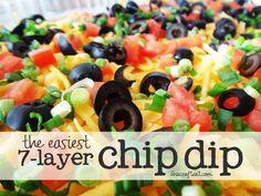 7-layer chip dip