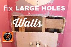 Do you need to learn how to fix a large hole in the wall? This tutorial has you covered. And yes, there's a video showing step-by-step instructions!