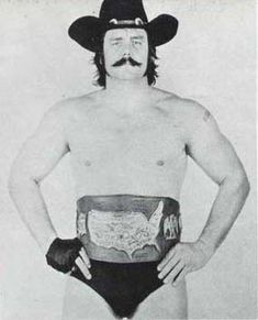 Black Jack Mulligan standing tall - #wwe champion - trouble $ feds then was ordained a minister by Divine Hearts Ministry located in Lake Saint Louis, Missouri.
