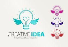Creative İdea Logo by Creative Dezing on @creativemarket