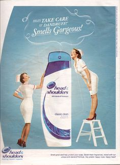 of Things You Didn't Know About Head & Shoulders Head & Shoulders, Head And Shoulders Shampoo, Shampoo Advertising, Jill Greenberg, Happy Fresh, Anti Dandruff Shampoo, Ad Design, Design Posters, Ads Creative