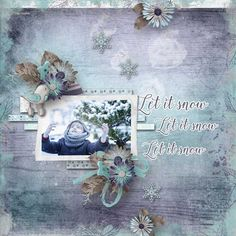 Snow Adorable ~ 6-Pack plus FWP by Keep in Touch Designs at pickleberrypop now at $1 per pack thru Dec 22 [ link ] A Beautiful Inspiration Sketch Templates by LorieM Designs [ link ]