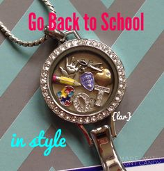 Go back to school in style with the Origami Owl lanyard locket. We now have a…