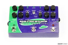 From the GearTunes library of tone ~ the Pigtronix Mothership ~ click it to hear it :)
