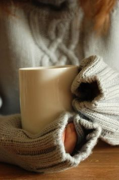I can't wait to wear sweaters and drink coffee on my porch in the morning!