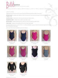 Clean look for Ballet Basics website... www.balletbasics.co.za