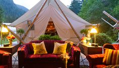 Clayoquot Wilderness Resort, Canada- 8 Luxury Camping Trips That Are Worth It
