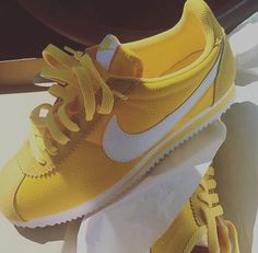 Follow @josypostedthat for more Women's Shoes, Sock Shoes, Shoes Sneakers, Cute Shoes, Me Too Shoes, Shoe Boots, Yellow Sneakers, Baskets, Yellow Nikes