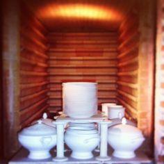 «#Porcelaine de #Limoges avant cuisson dans le #four»