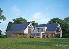 Projekty domów LK&Projekt LK&1156 wizualizacja 3
