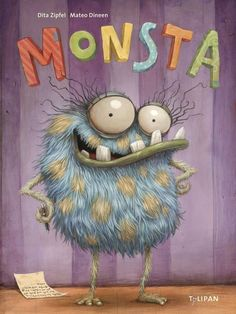 Here's a sneak peek at the cover image for the children's book that I'm illustrating. Just finished it! Halloween Illustration, Cute Monster Illustration, Children's Book Illustration, Funny Monsters, Cartoon Monsters, Little Monsters, Art Hama, Happy Paintings, Monster Art