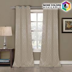 Blackout Grommet Curtain Panels - Tayla - $19.75. https://www.tanga.com/deals/3e0afc3441b9/blackout-grommet-curtain-panels-tayla
