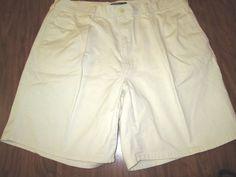 Polo by Ralph Lauren Men's Pleated Khaki Chino Shorts Size 38 #PoloRalphLauren #KhakisChinos