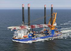 Aeolus Completes Sea Trials, Set for Norther OWF Works Offshore Wind Farms, Charter Boat, Trials, Sailing Ships, Boats, It Works, Sea, Historia, Ships