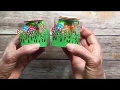 Carrot garden in a box ~ adorable! Enjoyable, informative tutorial by WOW NOLA Creations with the Stampin Up Basket Bunch Easter Candy, Easter Treats, Stampin Up, Spring Crafts, Paper Design, Party Favors, Paper Crafts, Crafty, Make It Yourself
