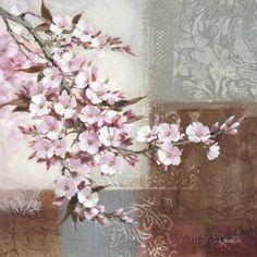 Art Print: Cherry Bloom Wall Art by Danielle Nengerman by Danielle Nengerman : Art Floral, Floral Prints, Beautiful Flowers Pictures, Pretty Flowers, Flower Images, Flower Pictures, Cherry Blooms, Poster Prints, Art Prints