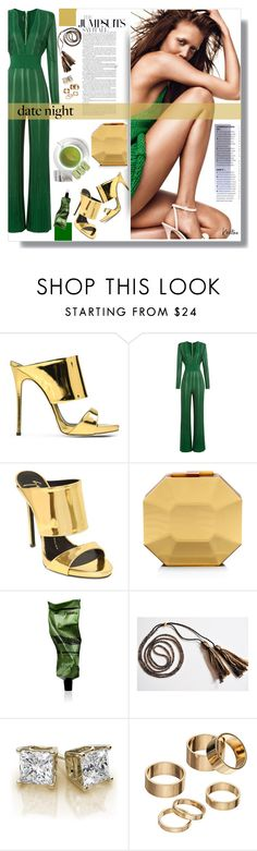 """Formal Jumpsuit"" by kristina-susanto ❤ liked on Polyvore featuring Giuseppe Zanotti, Balmain, Rauwolf, Aesop, Apt. 9, DateNight, jumpsuit and formaljumpsuit"