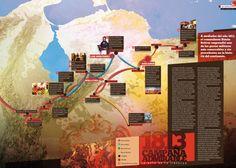 Infografía sobre la Campaña Admirable de Simón Bolívar