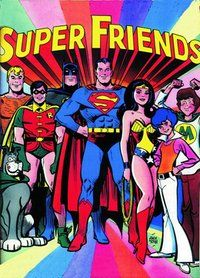 SuperFriends was an animated series that premiered on ABC on September 8, 1973.