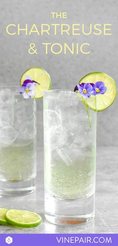 Chartreuse & Tonic Recipe