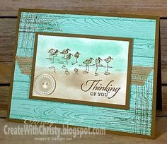 Create With Christy: Retiring Stamp Sets - Wetlands & Gorgeous Grunge