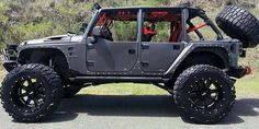 Ready for a sweet ride. Jeep Jk, Jeep Wrangler Jk, Jeep Truck, Jeep Pickup, Jeep Rubicon, Badass Jeep, Super Images, Custom Jeep, Jeep Brand