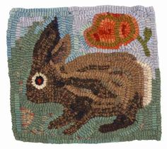 Award-winning handmade rugs by Annie Hayes. Hook Punch, Little Bunny Foo Foo, Some Bunny Loves You, Color Plan, Rug Inspiration, Hand Hooked Rugs, Penny Rugs, Traditional Rugs, Primitive Crafts