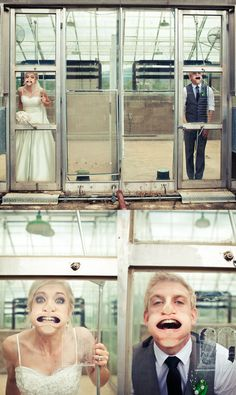 Such cute wedding photos!