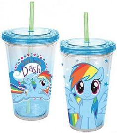 My Little Pony Rainbow Dash Travel Cup