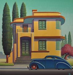 Meyer Gallery specializes in classically inspired representational fine art by emerging, mid-career and established artists. Meyer Gallery, founded in is located on historic Canyon Road in Santa Fe, NM Art Deco Posters, Vintage Posters, Vintage Art, Deco Retro, Retro Art, Art Nouveau, Pop Art, Art Deco Paintings, Streamline Moderne