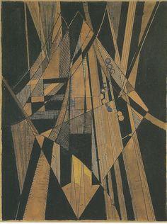 Brooklyn Bridge ou Le Pont de Brooklyn, 1915 by Albert Gleizes