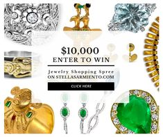 I just Joined the contest. Hurry the drawing is FEB 14Th, 2018, right on time for Valentine ;) Share this post with your friends to boost your chance to win!  http://win.stellasarmiento.com #sweepstakes #win #jewelry