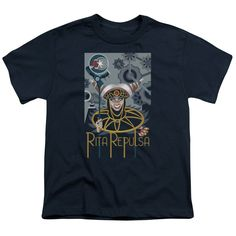 "Checkout our #LicensedGear products FREE SHIPPING + 10% OFF Coupon Code ""Official"" Power Rangers / Rita Deco-short Sleeve Youth 18 / 1 - Power Rangers / Rita Deco-short Sleeve Youth 18 / 1 - Price: $29.99. Buy now at https://officiallylicensedgear.com/power-rangers-rita-deco-short-sleeve-youth-18-1"