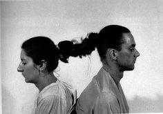 Marina Abramovic and Ulay.  Relation in Time