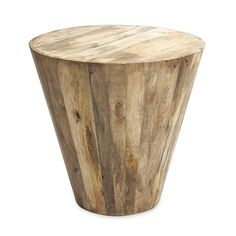 Simplicity at its most natural: the quiet charm of wood comes to life with this versatile side table. Crafted out of solid mango wood, it can be placed anywhere you wish to provide a touch of the rusti...  Find the Mango Wood Side Table, as seen in the Summer of Love Collection at http://dotandbo.com/collections/summer-of-love-1?utm_source=pinterest&utm_medium=organic&db_sku=IMX0040