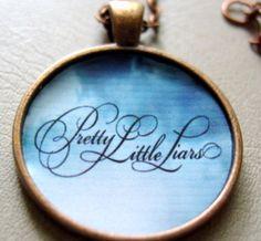 Pretty Little Liars Bronze Necklace