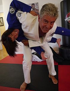 Ottavia and Tony Bourdain