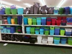 dollartree storage containers - Google Search